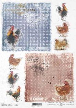 Reispapier für Serviettentechnik und Decoupage R1351