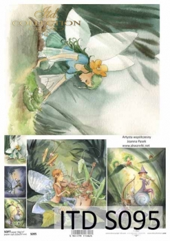 Decoupage paper Soft ITD S0095