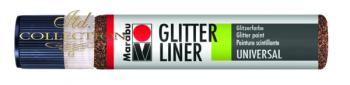 Liner Glitter 25 ml - Espresso 545