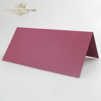Card Base BDK-004 * burgundy colour