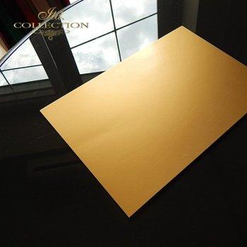 Paper for scrapbooking, color: matt gold