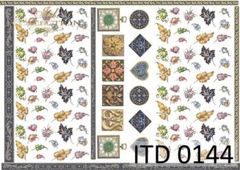 Decoupage paper ITD D0144M