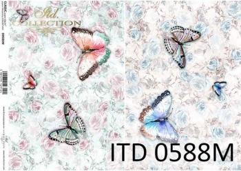 Decoupage paper ITD D0588M
