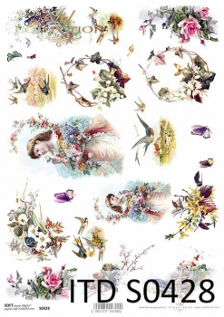 Decoupage paper Soft ITD S0428
