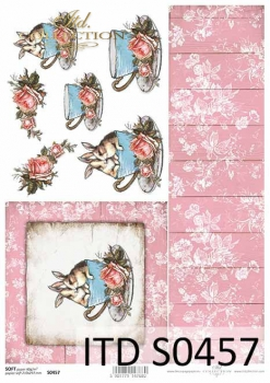 Decoupage paper Soft ITD S0457