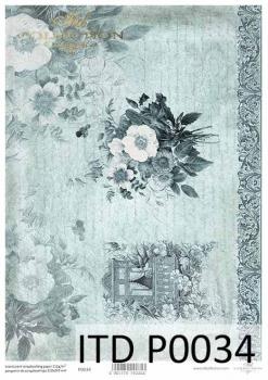 Translucent scrapbooking paper P0034