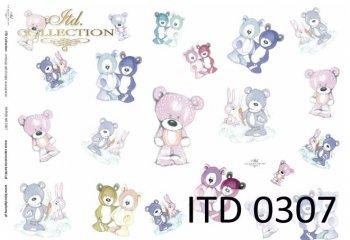 Decoupage Paper ITD D0307