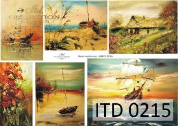 Decoupage paper ITD D0215