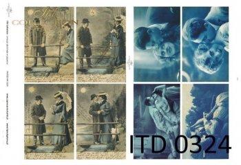 Decoupage paper ITD D0324