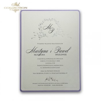 Invitations / Wedding Invitation 2070s