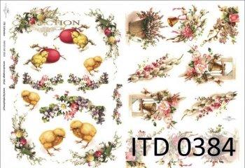 Decoupage paper ITD D0384