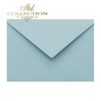 .Envelope KP04.20 'C6' 114x162 blue