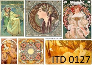 Decoupage Paper ITD 0127M
