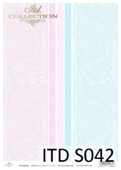 Decoupage paper Soft ITD S0042