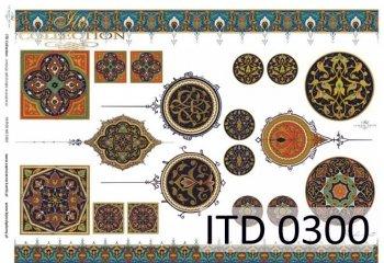 Decoupage paper ITD D0300M