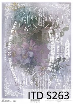 Decoupage paper Soft ITD S0263