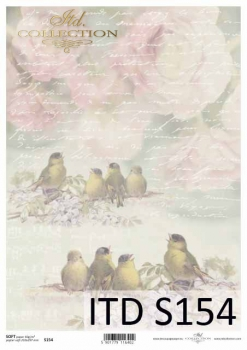 Decoupage paper Soft ITD S0154