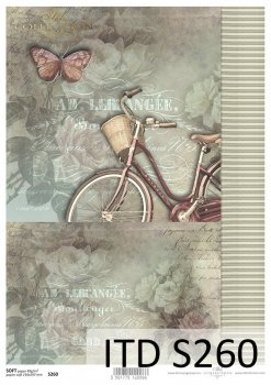 Decoupage paper Soft ITD S0260