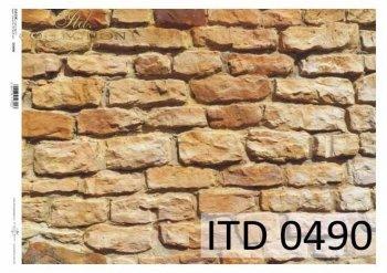 Decoupage paper ITD D0490M