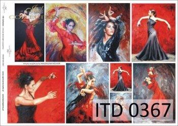 Decoupage paper ITD D0367
