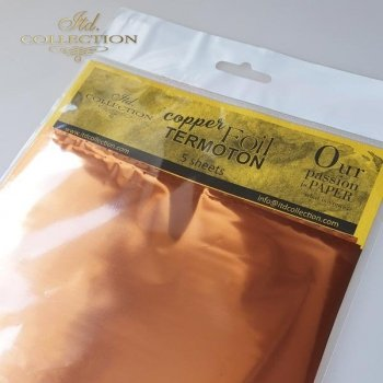 metallic foil Termoton * copper