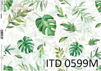 Decoupage paper ITD D0599M