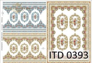 Decoupage paper ITD D0393M