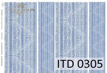 Decoupage paper ITD D0305