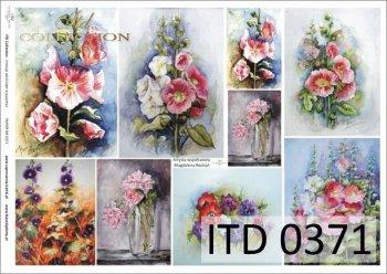 Decoupage paper ITD D0371M