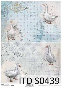 Decoupage paper Soft ITD S0439