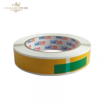 Double-sided self-adhesive tape with cut 'slices'20mmx10mm