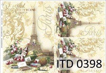 Decoupage paper ITD D0398M