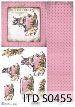 Decoupage paper Soft ITD S0455