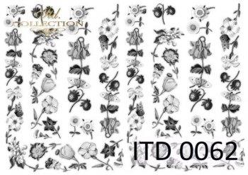 Decoupage paper ITD D0062M