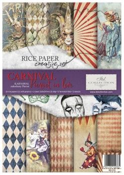 Creative Set RS019 Carnival - Pierrot in love