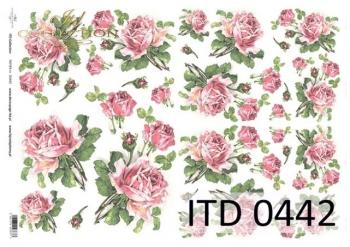 Decoupage paper ITD D0442M