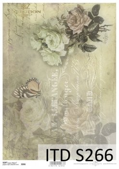 Decoupage paper Soft ITD S0266