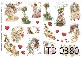 Decoupage paper ITD D0380M