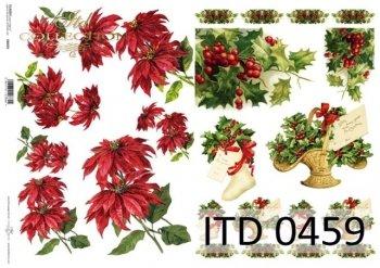 Decoupage paper ITD D0459M