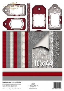 Scrapbooking papers SCRAP-004 ''Classic''