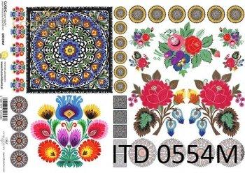 Decoupage paper ITD D0554M