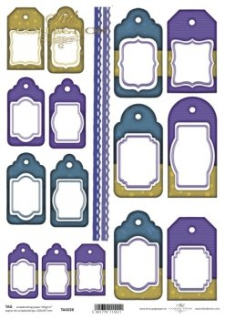 Tags, frames to scrapbooking TAG0028