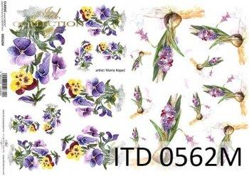Decoupage paper ITD D0562M