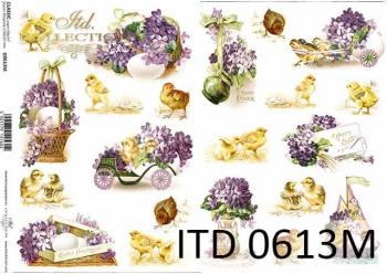 Decoupage paper ITD D0613M