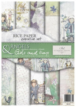 Creative Set RS011 Angels girls and boys