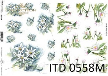 Decoupage paper ITD D0558M