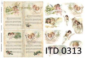 Decoupage paper ITD D0313M