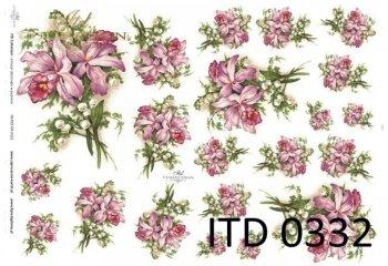 Decoupage paper ITD D0332M