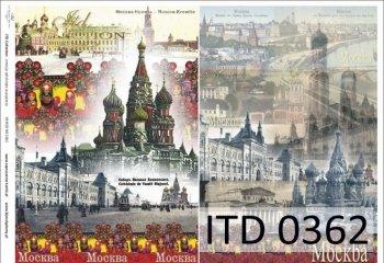 Decoupage paper ITD D0362
