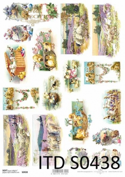 Decoupage paper Soft ITD S0438
